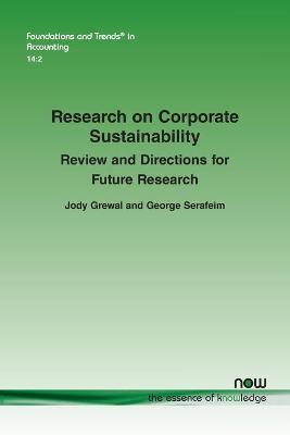 Research on Corporate Sustainability by Jody Grewal