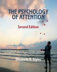 The Psychology of Attention by Elizabeth Styles image