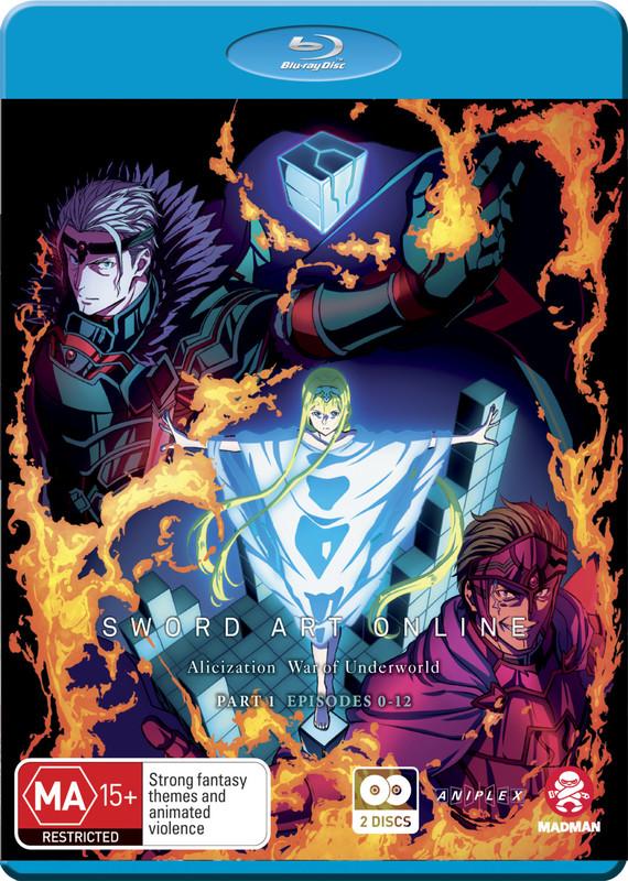 Sword Art Online Alicization: War Of Underworld - Part 1 on Blu-ray