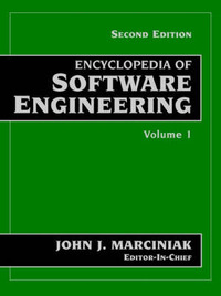 Encyclopedia of Software Engineering by John J. Marciniak image