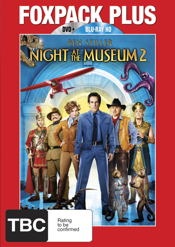 Night at the Museum 2: Combo Pack (2 Disc Set) on DVD, Blu-ray
