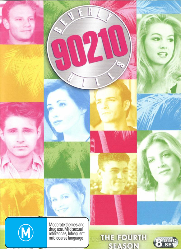 Beverly Hills 90210 - Season 4 (8 Disc Box Set) | DVD | Buy Now | at Mighty Ape Australia