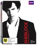 Sherlock - Complete Series 1-3 Box Set DVD