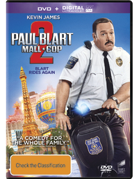 Paul Blart: Mall Cop 2 on DVD