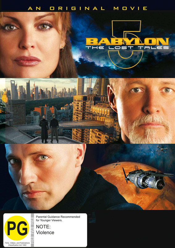 Babylon 5 - The Lost Tales on DVD