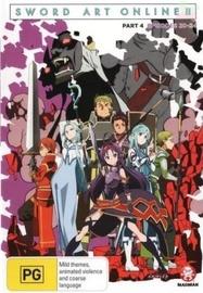 Sword Art Online 2 - Part 4 on DVD