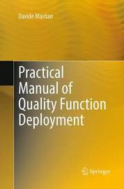 Practical Manual of Quality Function Deployment by Davide Maritan