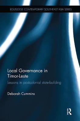 Local Governance in Timor-Leste by Deborah Cummins image