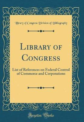 Library of Congress by Library of Congress Divisi Bibliography