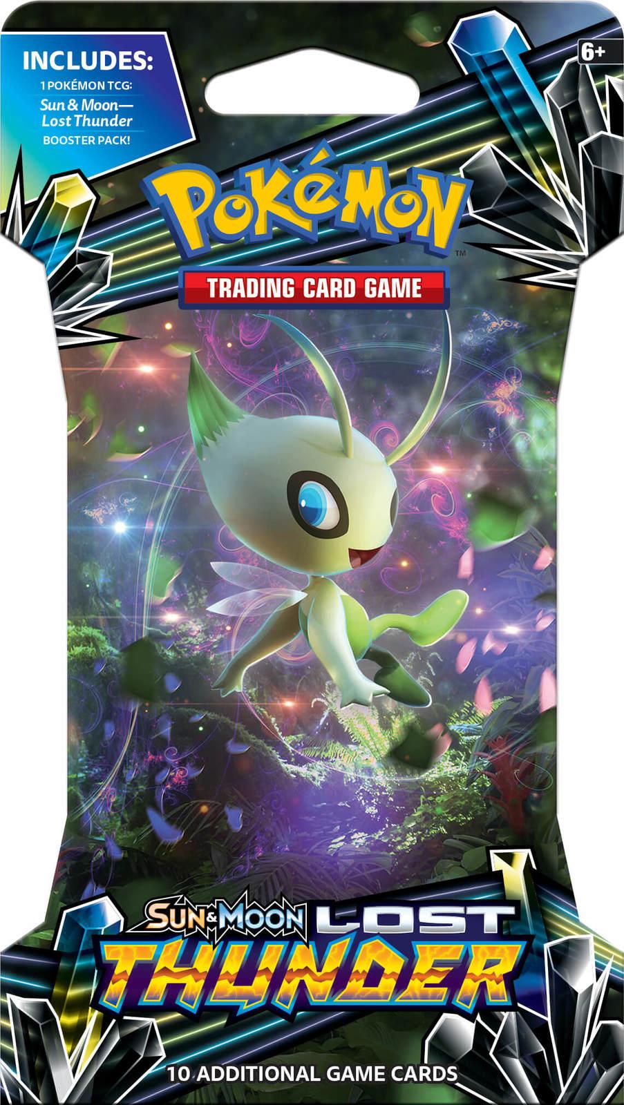 Pokemon TCG: Lost Thunder - Single Blister (10 Cards) image