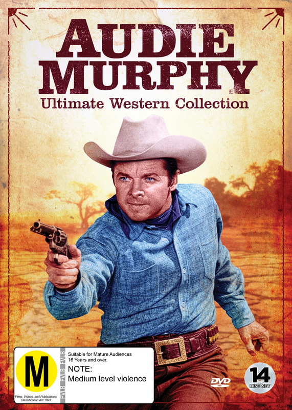 Audie Murphy Ultimate Western Collection on DVD
