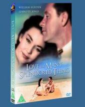 Love Is A Many Splendored Thing on DVD