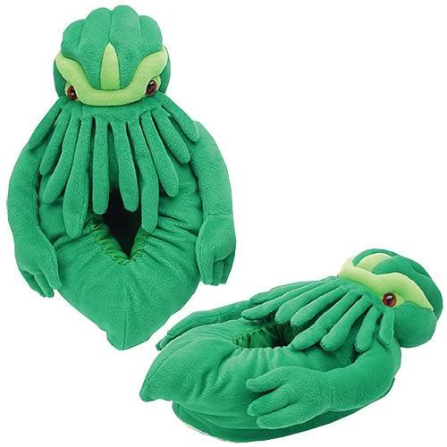 Cthulhu Plush Slippers image