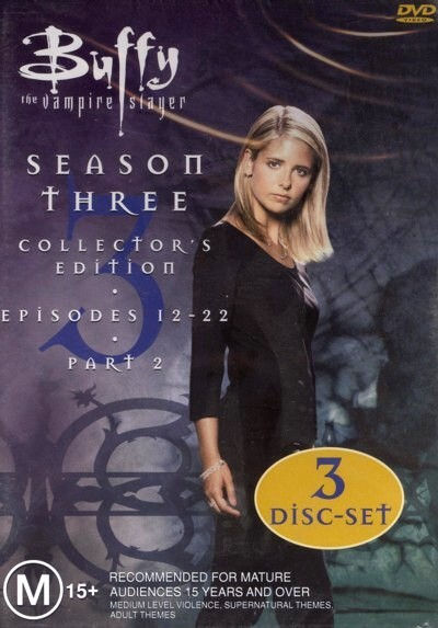Buffy The Vampire Slayer Season 3 Vol 2 Collection on DVD