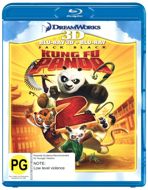 Kung Fu Panda 2 - 3D Combo on Blu-ray, 3D Blu-ray