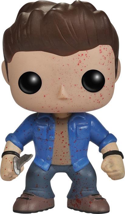 Supernatural Dean Winchester Blood Splatter Pop! Vinyl Figure image