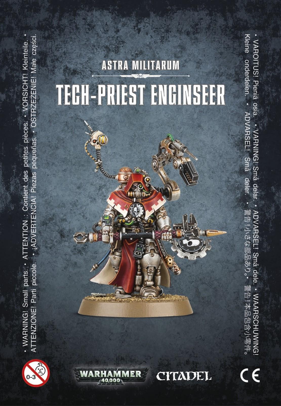 Warhammer 40,000 Astra Militarum Tech-Priest Enginseer image