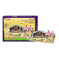 3D Fantasy - Exciting Circus and Pierrot