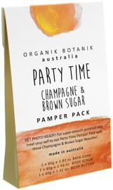 Organik Botanik Splotch - Party Time Pamper Pack (Champagne & Brown Sugar)