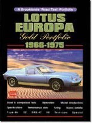 Lotus Europa Gold Portfolio, 1966-75
