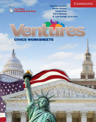 Ventures All Levels Civics Worksheets by K Lynn Savage