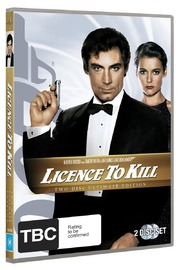 Licence to Kill - Special Edition (2 Disc Set) on DVD