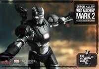 Super Alloy Iron Man 3 War Machine Mark 2 Diecast 1/12 Scale