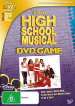 High School Musical - Interactive DVD Game on DVD