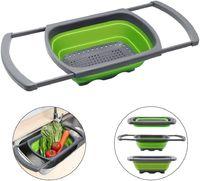 Collapsible Kitchen Colander/Vegetable Washing Basket