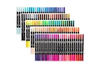 Essentials For You: Dual Tip Markers (120 Piece Set)