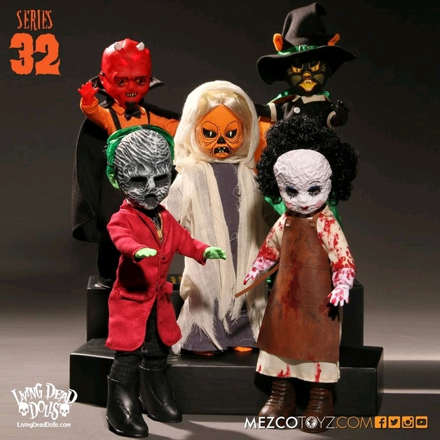 """Living Dead Dolls: Living Dead Dolls - 10"""" Series 32 Collection"""
