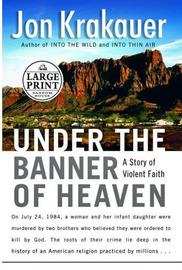 Lge Pri Under the Banner of Heaven by Jon Krakauer image