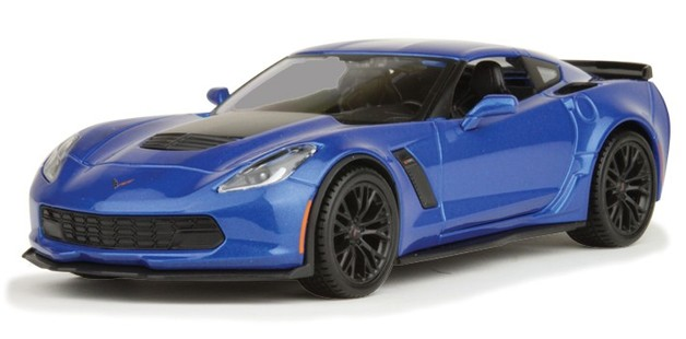 Maisto Special Edition: 1:24 Die-cast Vehicle - 2015 Corvette Z06