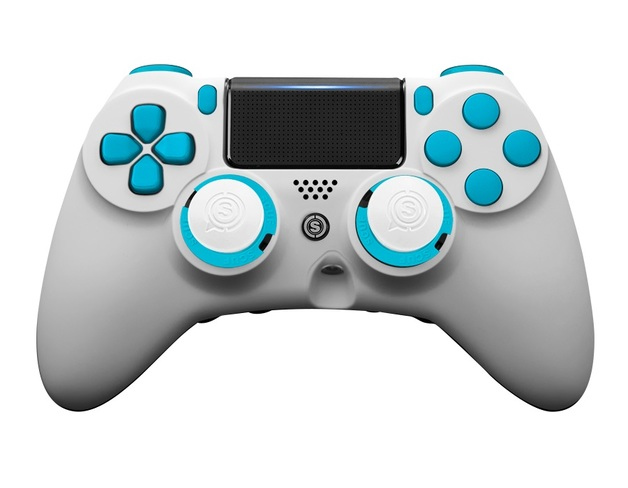 SCUF Impact Spectrum - White & Blue for PS4