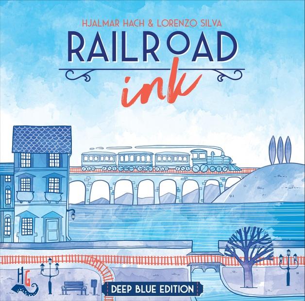 Railroad Ink: Deep Blue Edition - Board Game