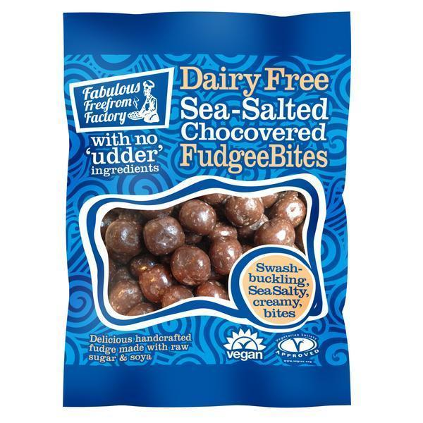 Fabulous Freefrom Factory Sea-Salt Choc Covered Fudgee Bites