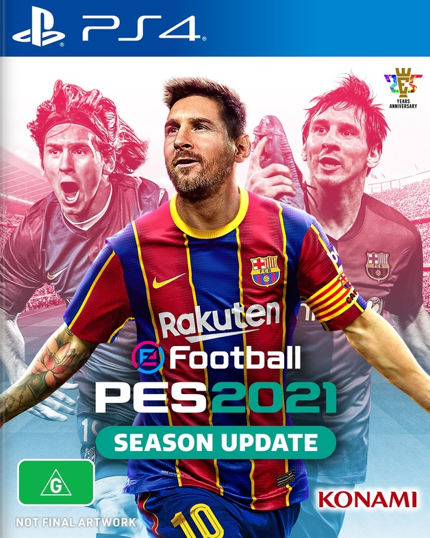 eFootball PES 2021 Season Update for PS4