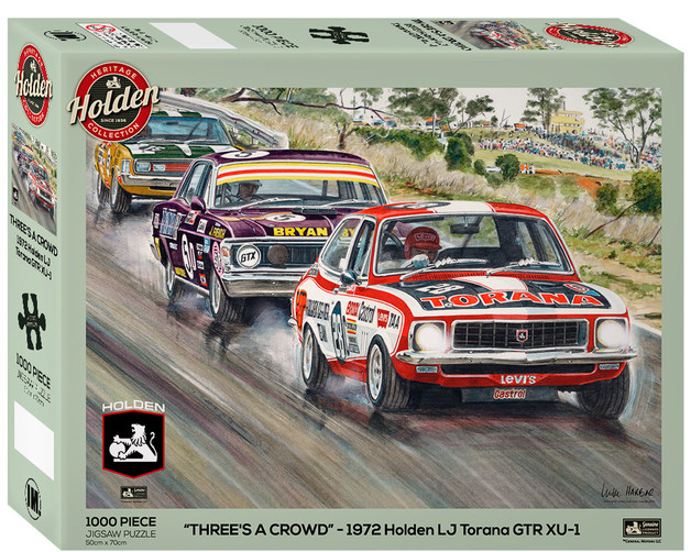 Impact Puzzle Holden Three's A Crowd Puzzle 1,000 pieces
