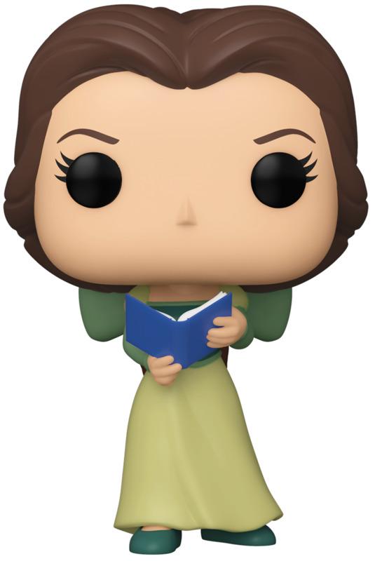 Disney: Belle Green Dress & Book (30th Anniversary) - Pop! Vinyl Figure