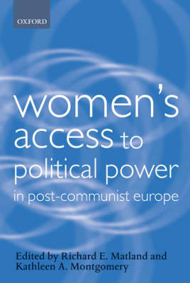 Women's Access to Political Power in Post-Communist Europe image
