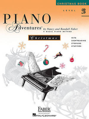 Piano Adventures Christmas Book, Level 2b image