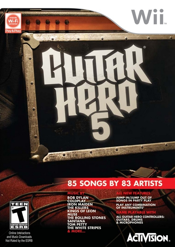 Guitar Hero 5 (Game Only) for Wii