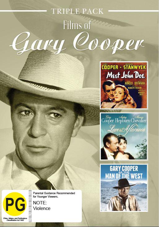 Gary Cooper - Triple Pack on DVD