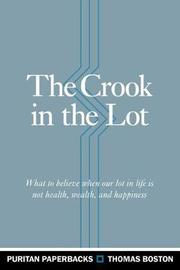 The Crook in the Lot by Thomas Boston image