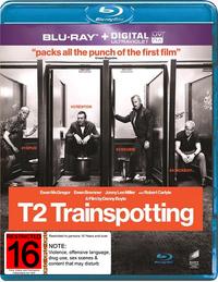 Trainspotting 2 on Blu-ray