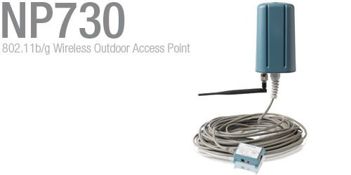 Dynalink NETCOMM NP730 OUTDOOR W/LESS ACCESS POINT image