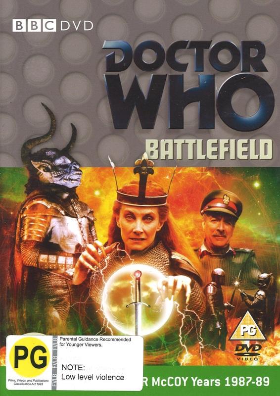 Doctor Who: Battlefield on DVD