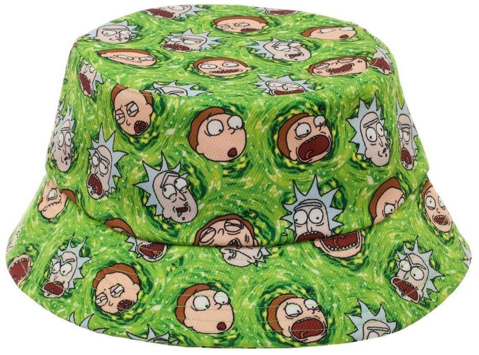 7ee8d9c9af882 ... Rick and Morty  Portals - Bucket Hat image ...