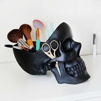 Suck Uk: Skull Tidy Decorative Bowl - Black image