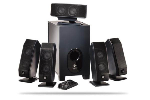 Logitech X540 5.1 Speaker System with Matrix Mode image